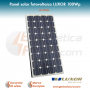 Panel solar fotovoltaico monocristalino LUXOR LX-100Wp