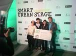 Entrega de premios smart urban stage en Frankfurt