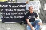 Más de un mes en huelga de hambre por las renovables