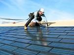 Funcionamiento de células solares flexibles en tejas