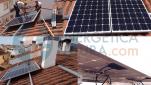 Solar fotovoltaica para autoconsumo en vivienda unifamiliar. Málaga
