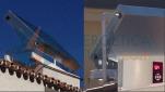 Solar térmica equipo compacto panel y depósito en vivienda unifamiliar. Torremolinos, Málaga