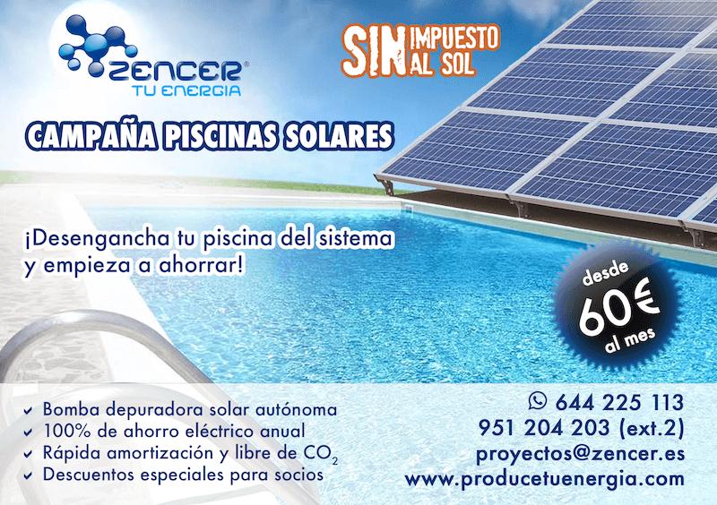 campaña piscinas solares Zencer REDUCIDA