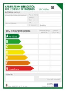 certificacion energetica edificios viviendas