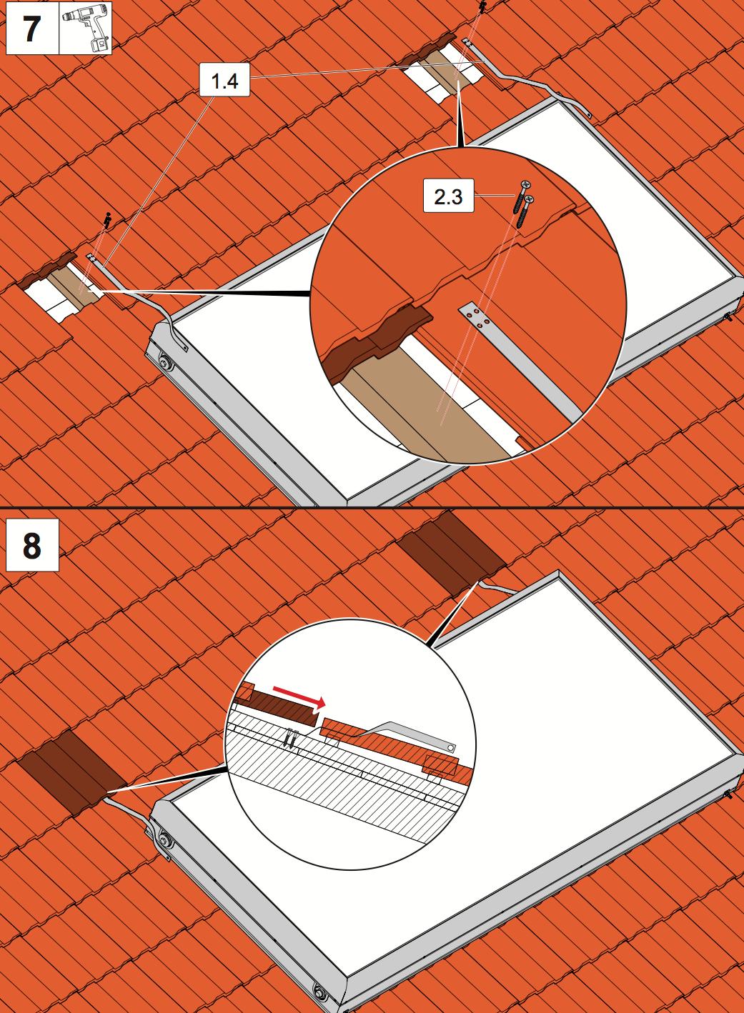 estructura soporte tejado solcrafte