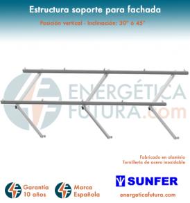 Estructura De Paneles Solares Para Tejado Inclinado Kht915